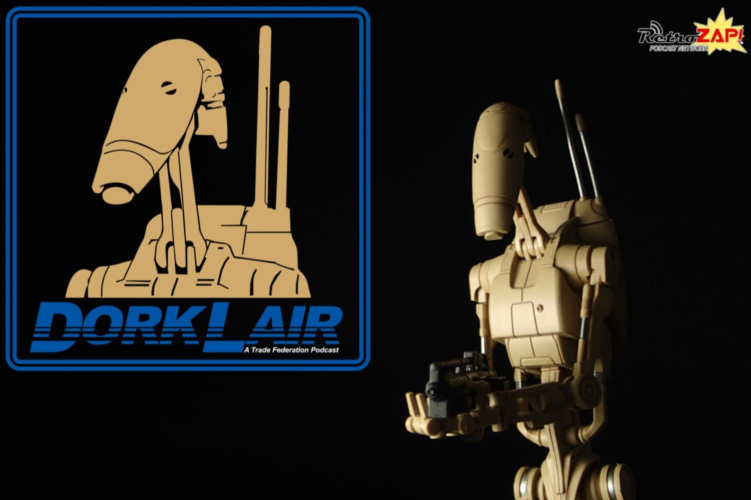 DorkLair 010 SH Figuarts Battle Droid