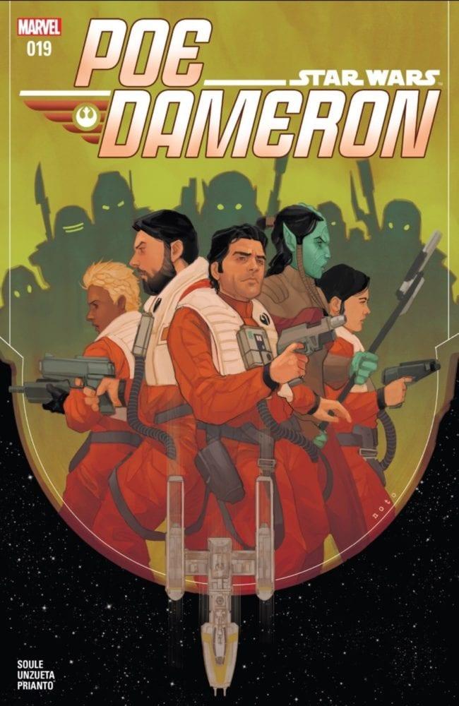 Poe Dameron #19 Cover