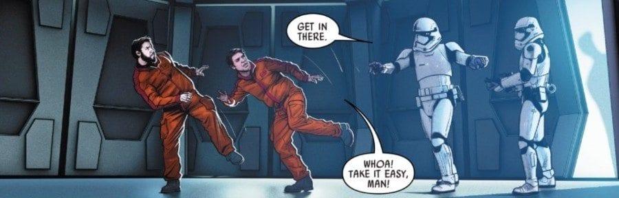 Poe Dameron #19 - Poe and Snap imprisoned