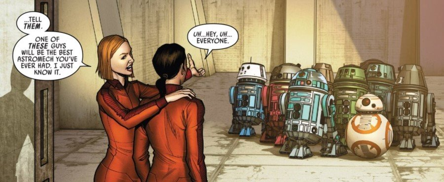 Poe Dameron #20 - Jess and the Droids