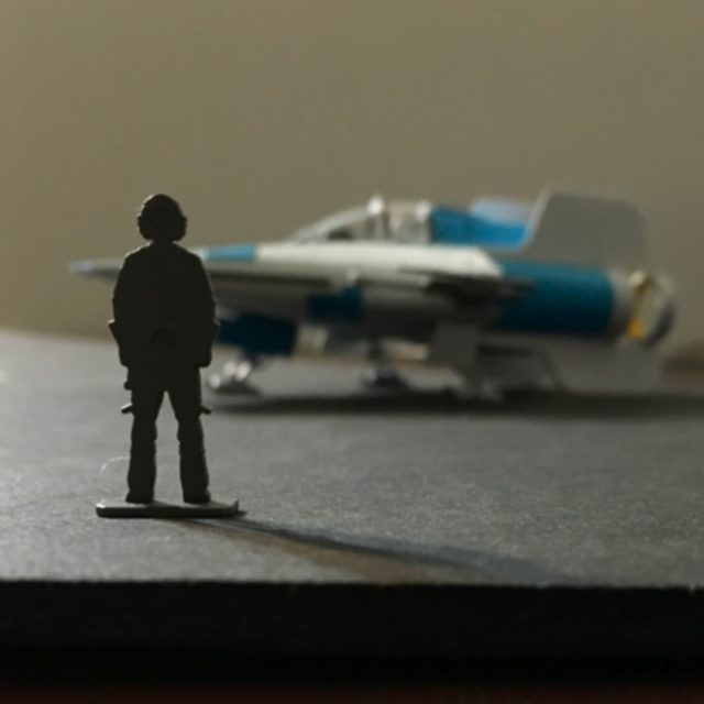 A-Wing Pilot Standing By