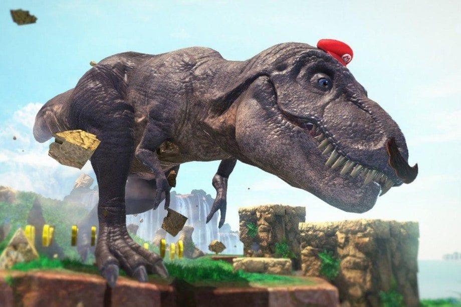 Super Mario Dinosaur