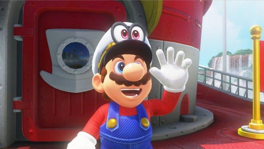 Super Mario Hello