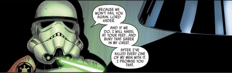 Star Wars #37 - Kreel and Vader