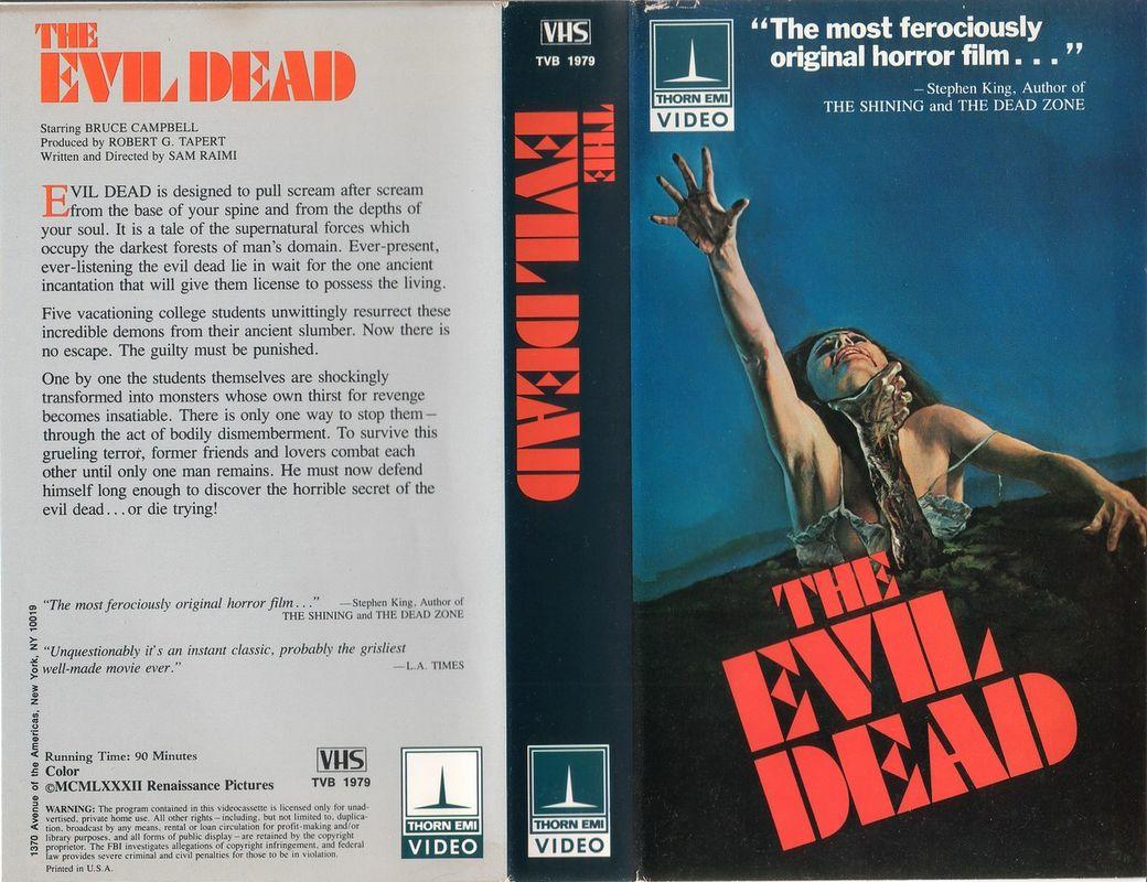 Terror At The Video Store - VHS Horror!