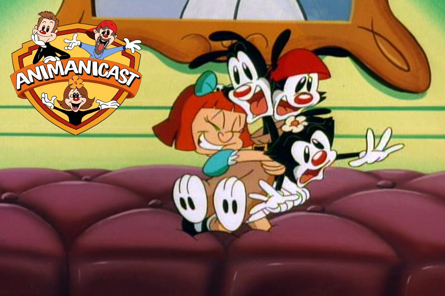 "Animanicast #64 with Animaniacs ""Lookit the Fuzzy Heads"" and ""No Face Like Home"""
