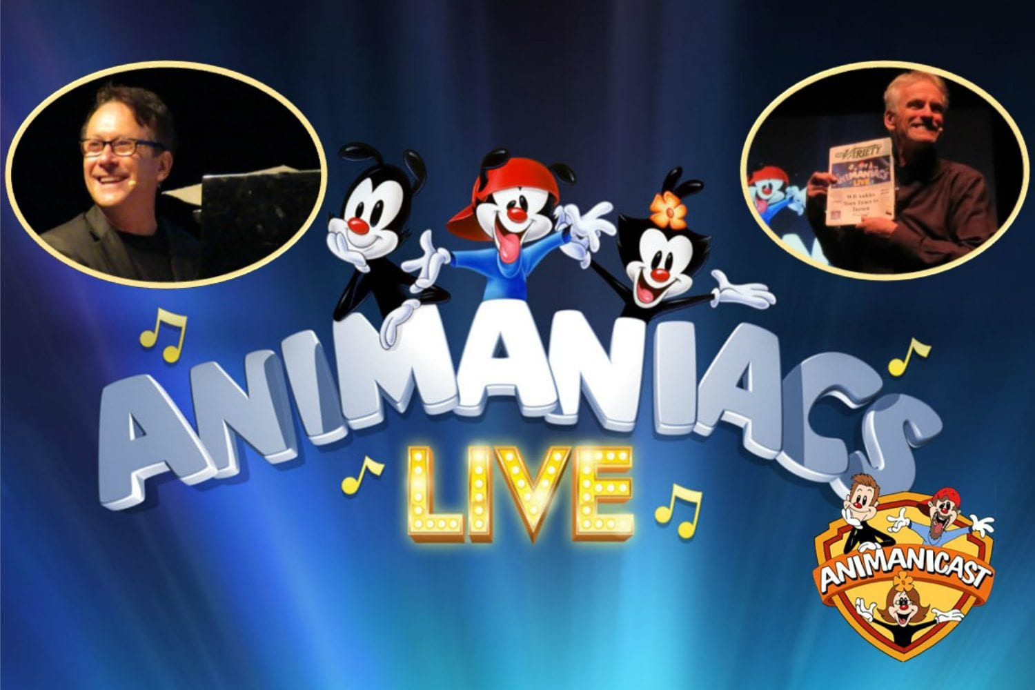 Animanicast #64a- Animaniacs Live in Tucson with Rob Paulsen and Randy Rogel