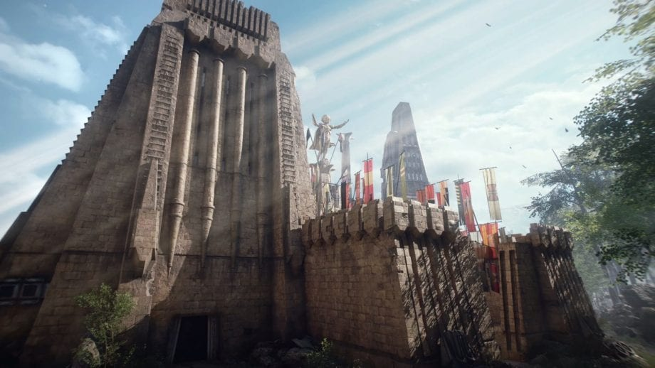 Battlefront II Maz's Castle