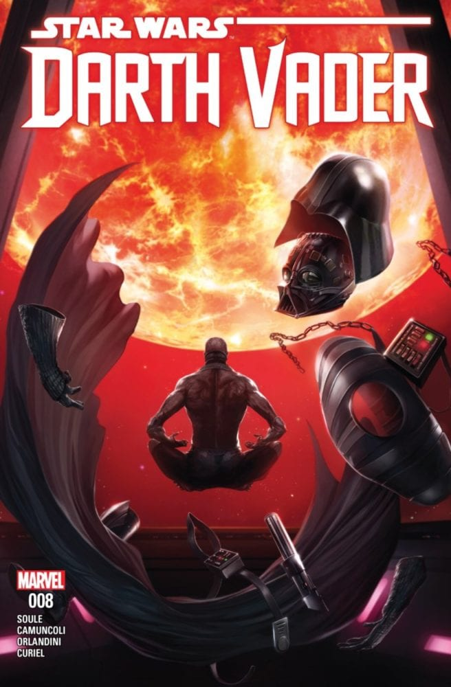 Darth Vader #8, The Dying Light Part 2 - Cover