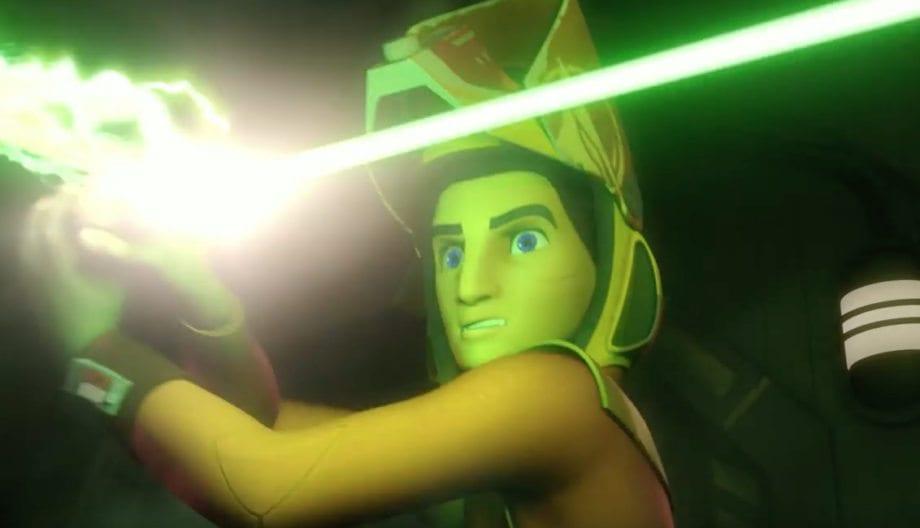 Ezra's biker scout helmet (Photo credit: Disney XD/Lucasfilm)