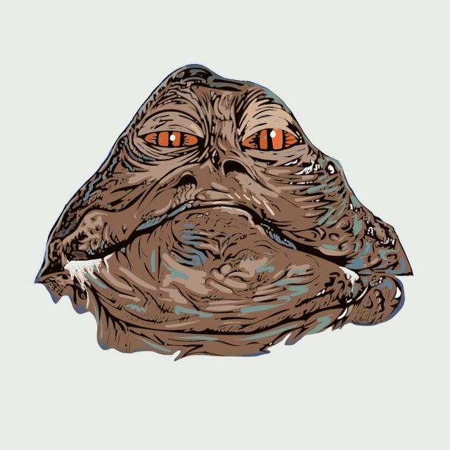 Jabba the Hutt in Color