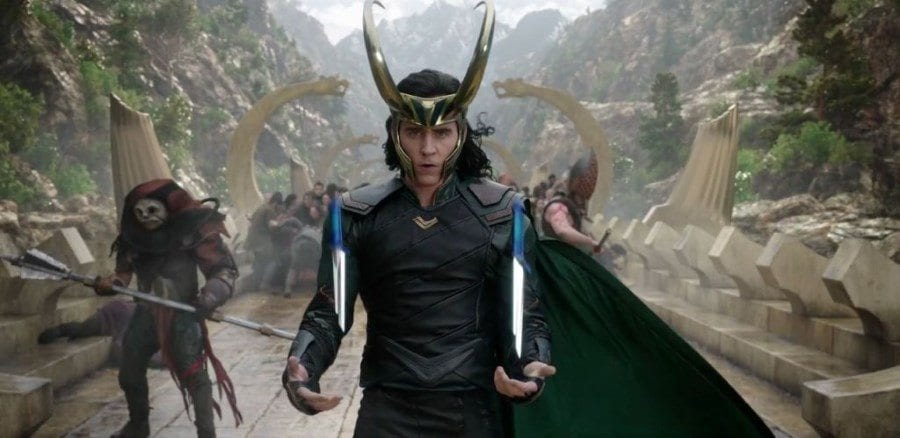 Thor Ragnarok - Hiddleston as Loki
