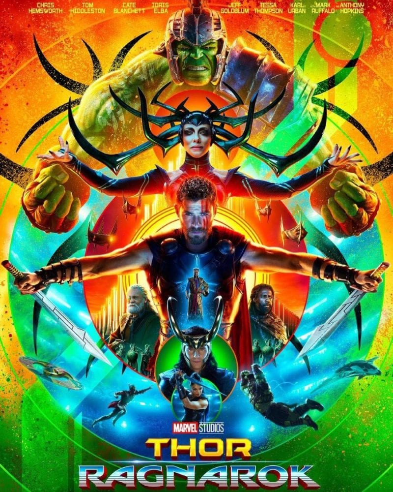 Thor Ragnarok - Movie Poster