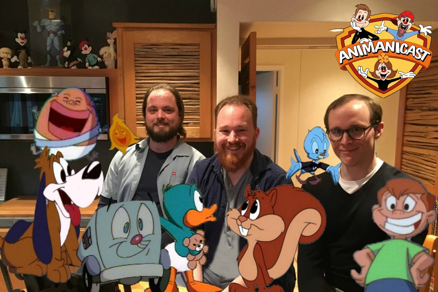 Animanicast #68a: Discussing Animaniacs with Nate, Luke and Cody Ruegger along with their father, Tom Ruegger