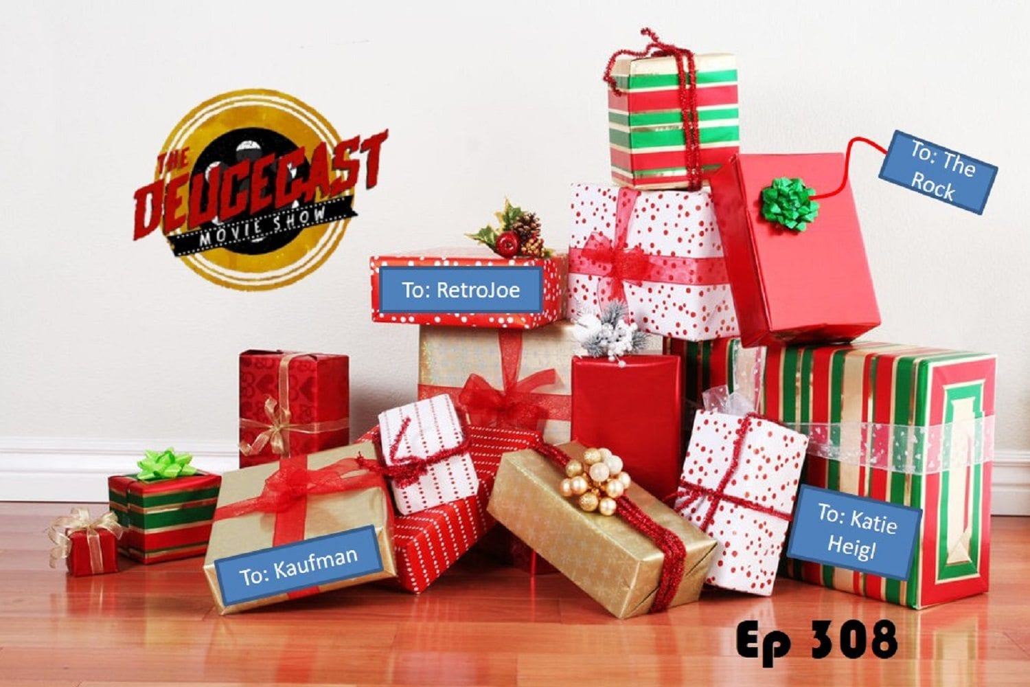 The Deucecast Movie Show #308: 2017's Christmas Gifts