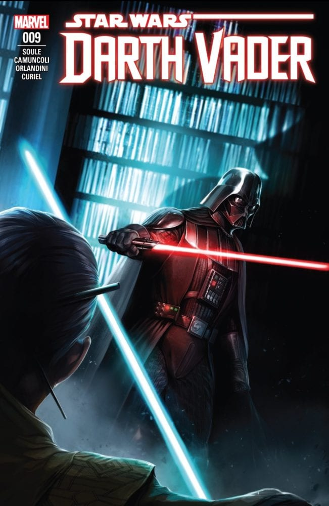 Darth Vader #9 - The Dying Light Part III - Cover