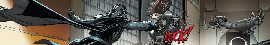 Darth Vader #9 - The Dying Light Part III - Vader vs Castor