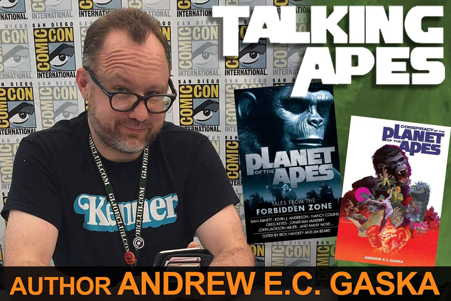 Talking Apes: Andrew E.C. Gaska, author