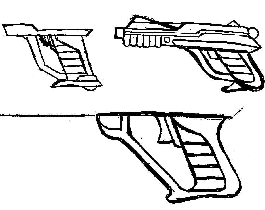 Retrozap! Gun Sketches