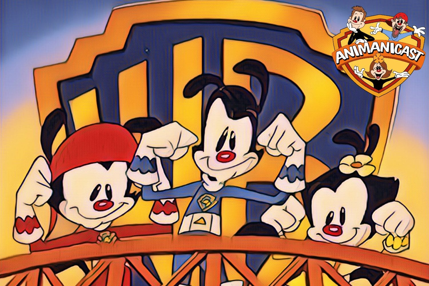 Animanicast #70: Discussing Super Strong Warner Siblings, A Quake, Wakko's New Gookie & Animaniacs Reboot News