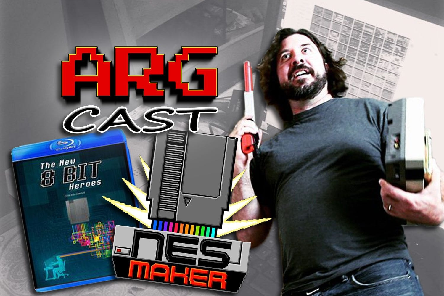 ARGcast #91: Making NES Games with Joe Granato and Rob McCallum