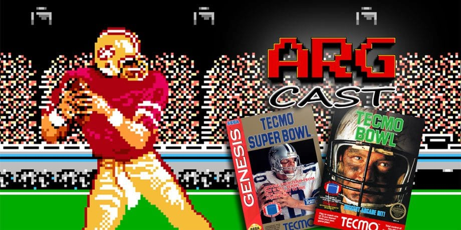ARGcast #94: Competing in Tecmo Bowl with Dave Murray