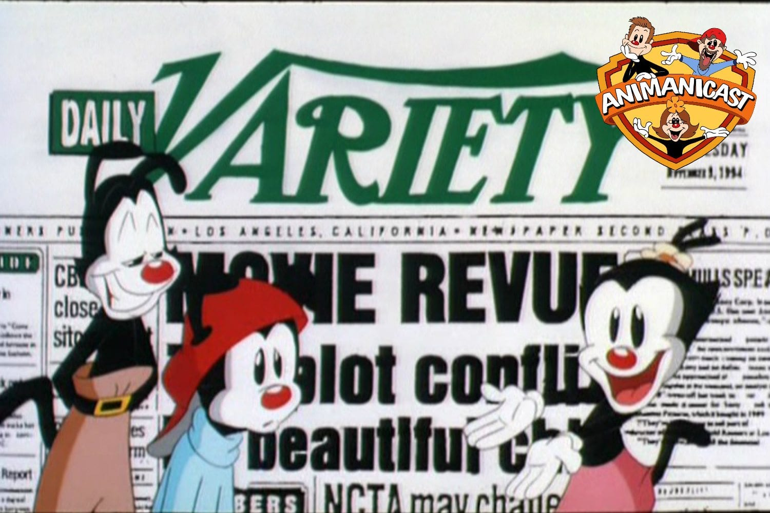 """Animanicast #71: Discussing """"Variety Speak,"""" """"Three Tenors and You're Out,"""" """"Bingo,"""" and Animaniacs Reboot Discussion"""