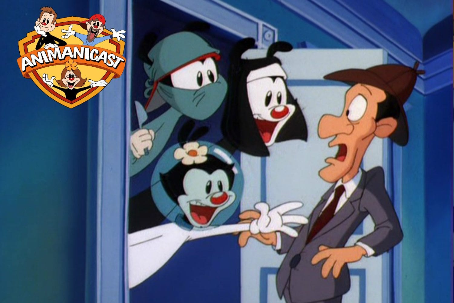 "Animanicast #72: Discussing ""Deduces Wild,"" ""Rest in Pieces,"" and ""U.N. Me."" from Animaniacs Episode 72"