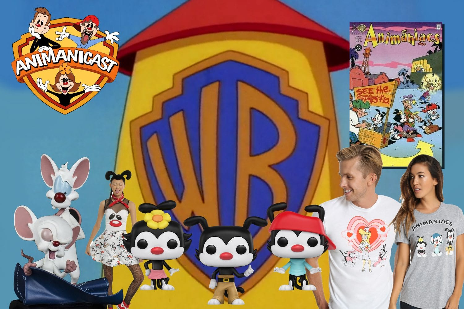 Animanicast #72a: New Animaniacs Merchandise and a Review of Animaniacs Issue #4