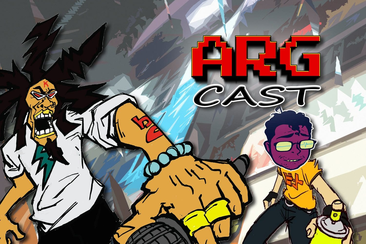 ARGcast Mini #8: Getting Funky in Jet Set Radio with 2 Mello