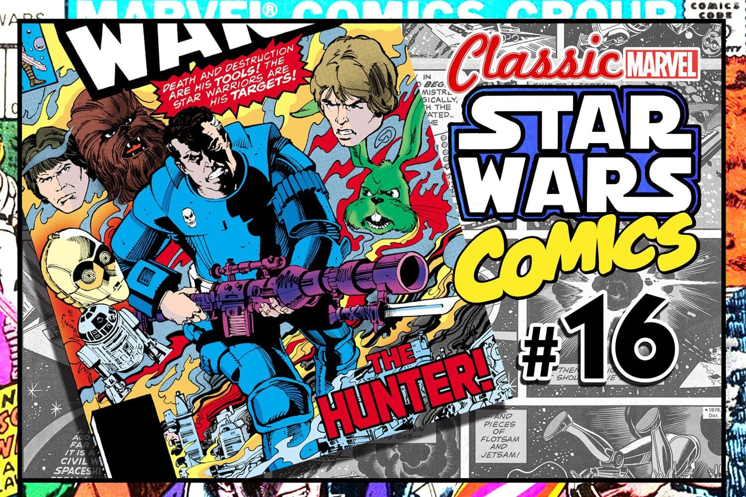 Classic Marvel Star Wars Comics #16: The Hunter