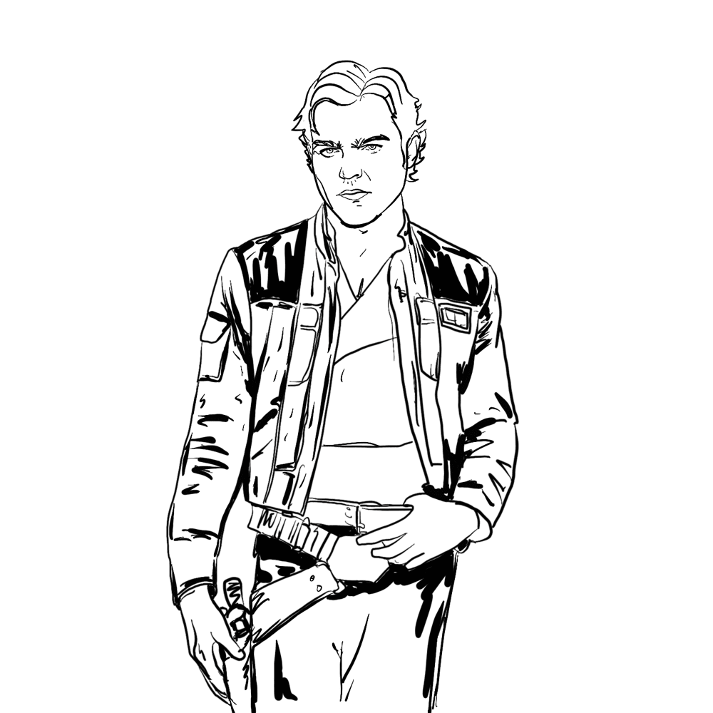 Solo Procreate Inks