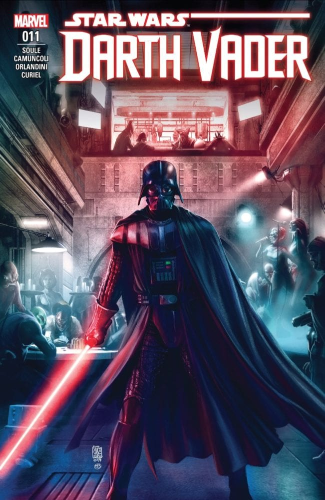 Darth Vader #11 - Rule of Five Part I - Cover