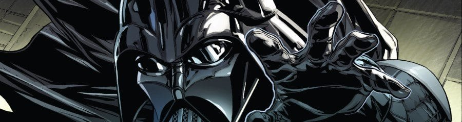 Darth Vader #11 Rule of Five Part I - Vader Grasping in the Force