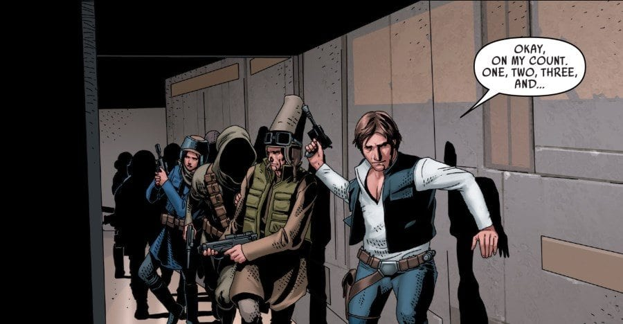 Star Wars #43 - Han Solo and the Partisans