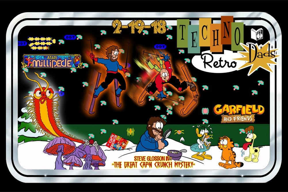 TechnoRetro Dads: Garfield and the Half Bowl of Cap'n Crunch Mystery