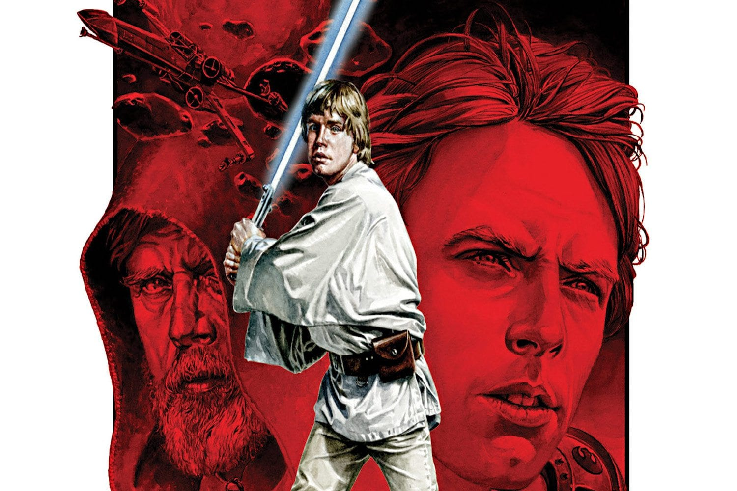 Image result for legends of luke skywalker illustrations