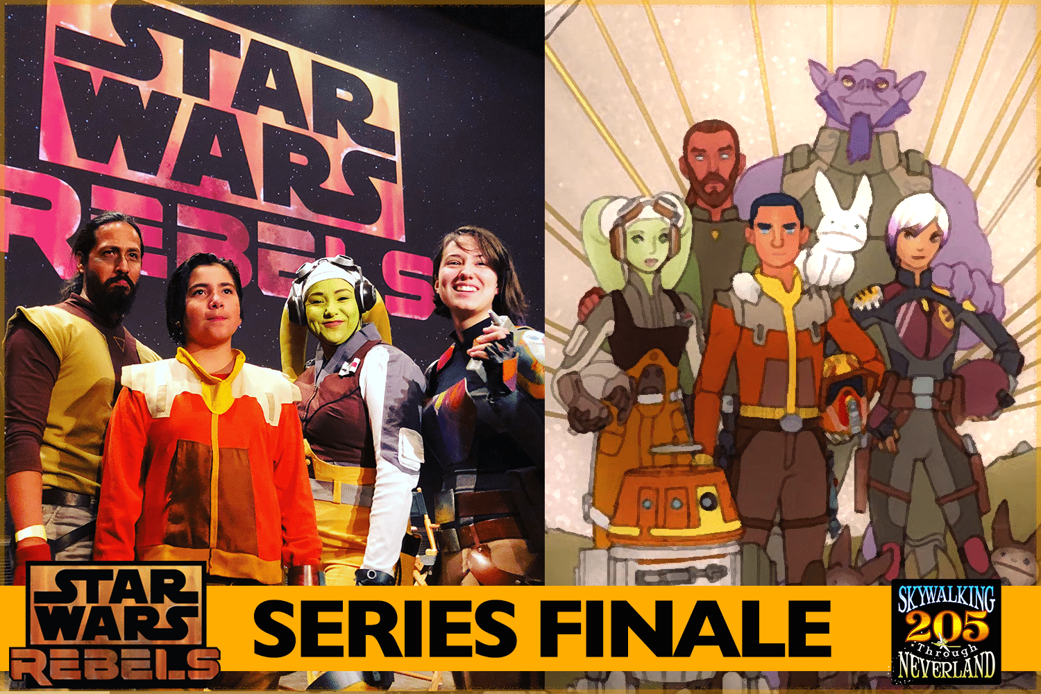 Skywalking Through Neverland #205: Star Wars Rebels Series Finale