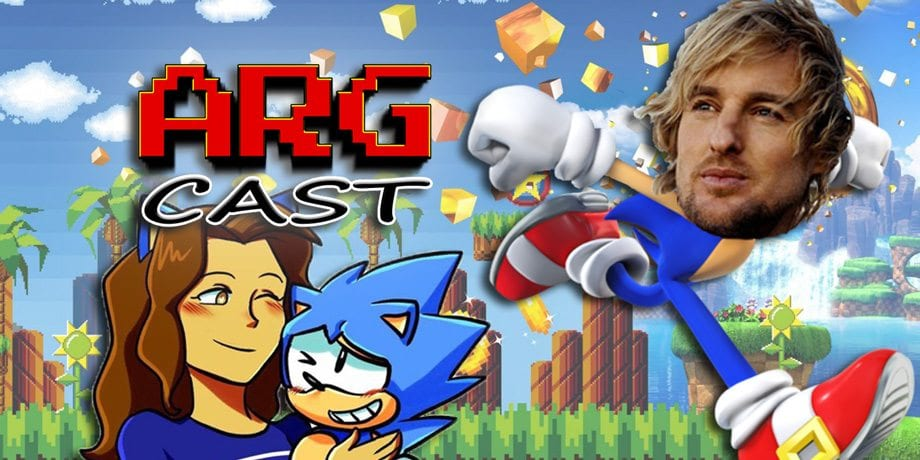 ARGcast #102: Wow, it's Sonic the Hedgehog with Lizzy Silvas