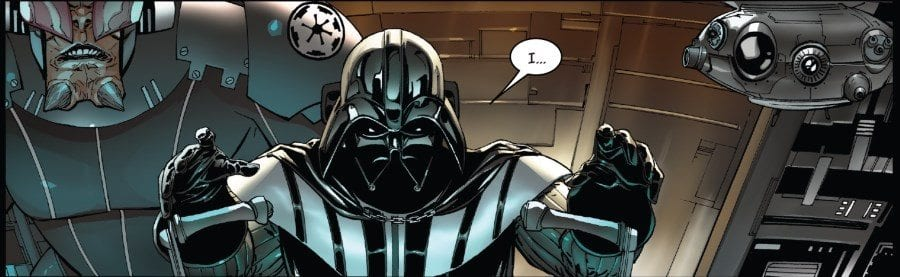 Darth Vader #12 The Rule of Five Part II - Vader the Pilot