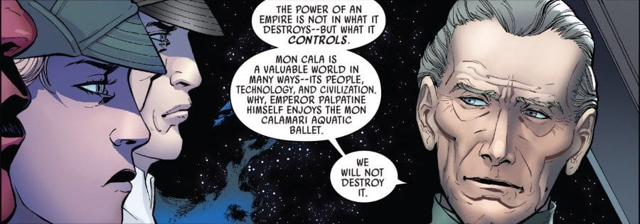 Darth Vader #13 - The Burning Seas Part I - Tarkin and Staff