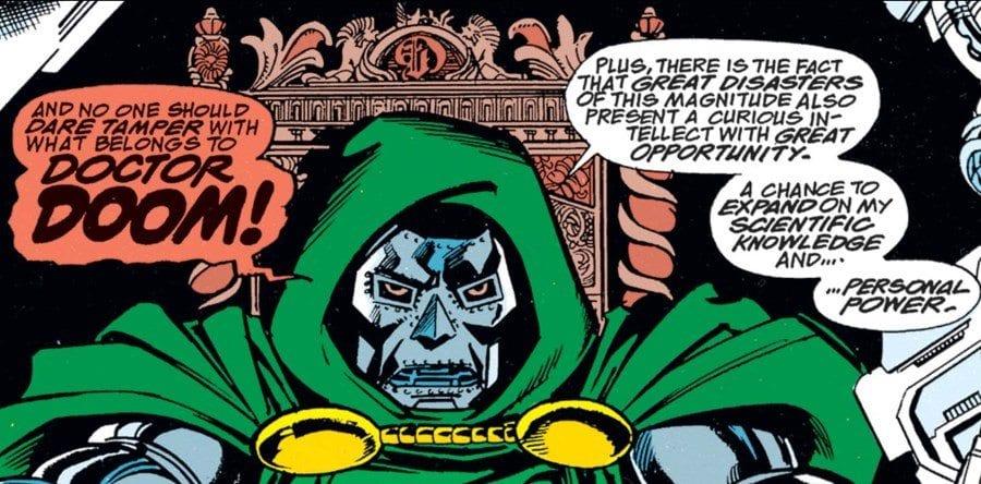 The Infinity Gauntlet #2 - Doom