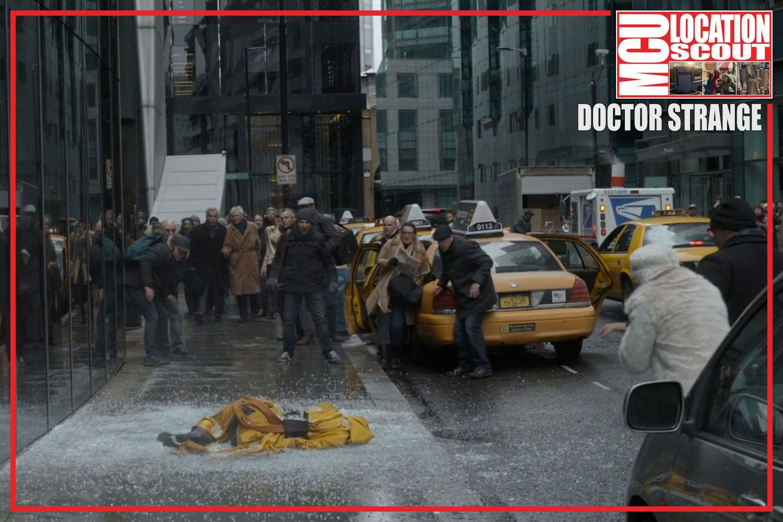 New York Sidewalk Accident