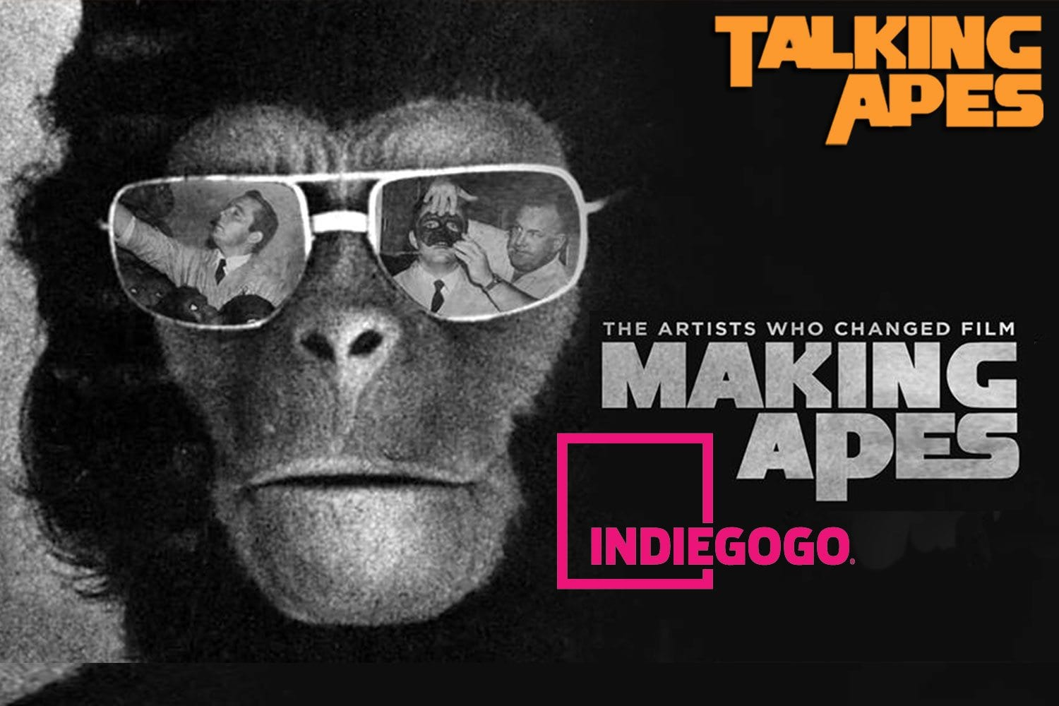 Talking Apes: Making Apes - The Indiegogo incentives!