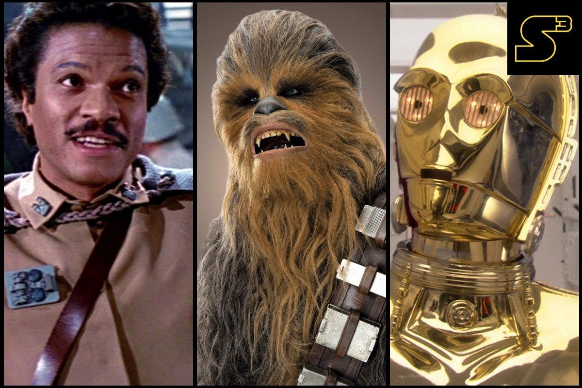 Starships, Sabers, and Scoundrels Episode 50 - Chewie and Lando
