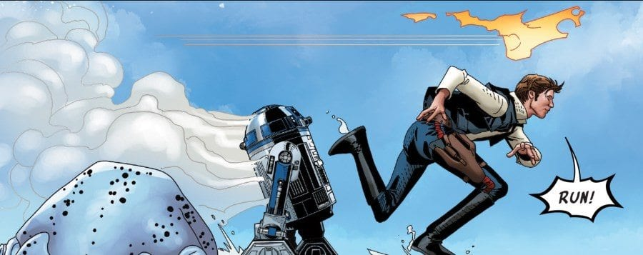Star Wars #44 - Han Solo and R2-D2