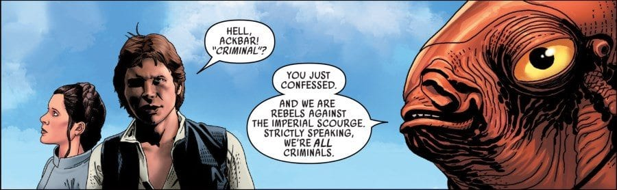 Star Wars #44 - Han Solo and Admiral Ackbar