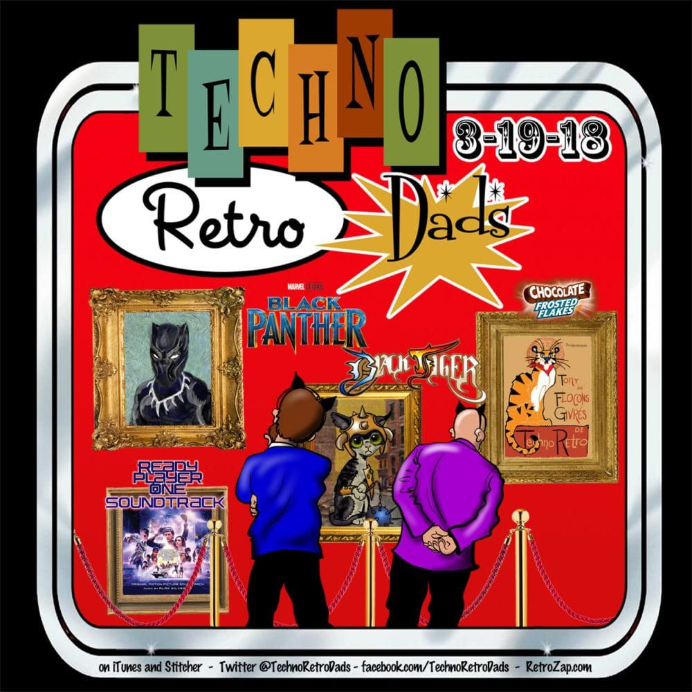 Chocolate Frosted Flakes with TechnoRetro Dads