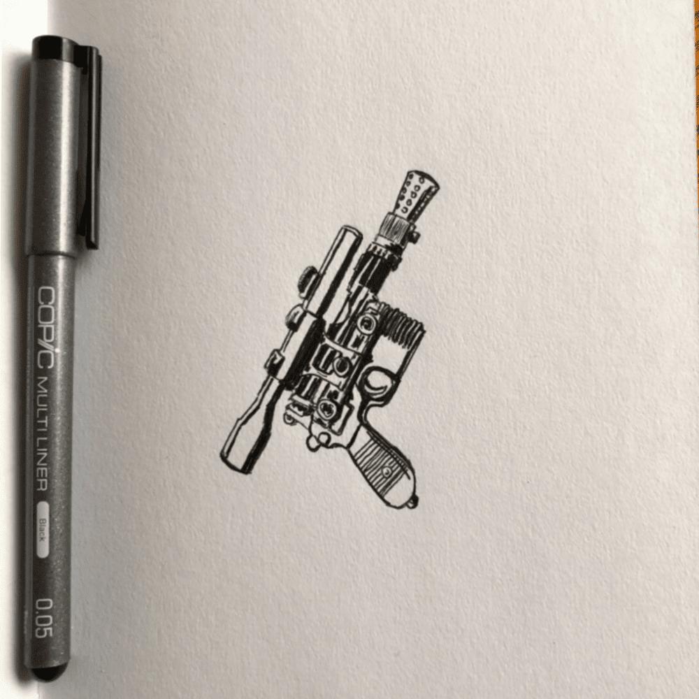 Han's DL-44 Blaster