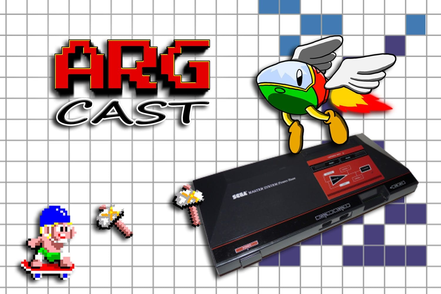 ARGcast #104: Mastering the Sega Master System with Joe Tavano